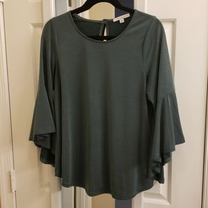 Green Envelope Size Medium Soft Green Top
